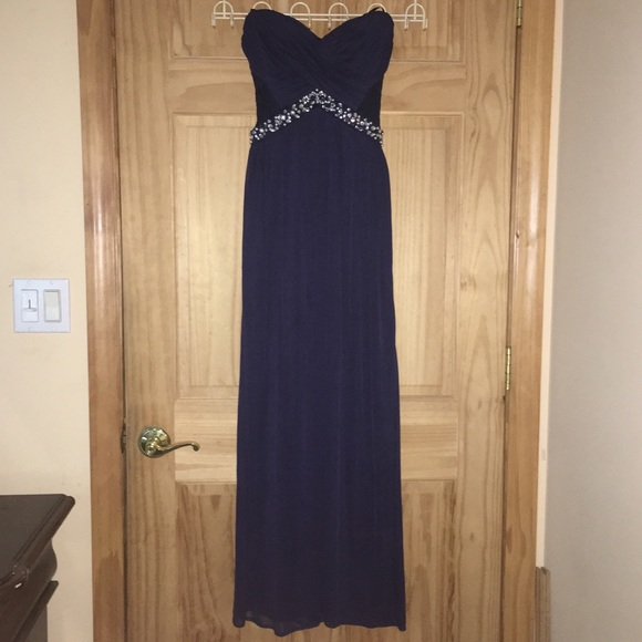 City Triangles Dresses Midnight Blue Prom Dress Poshmark